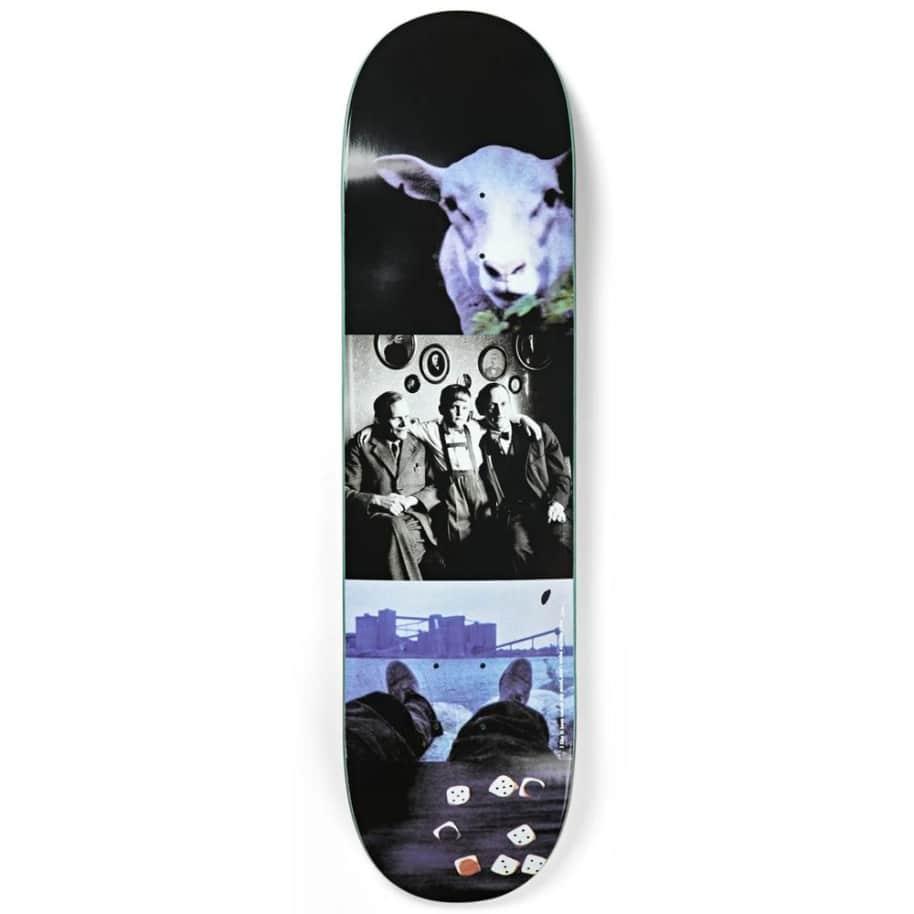 "Polar Skateboard Decks I Like It Here Sheep In Motion - 8.125"""