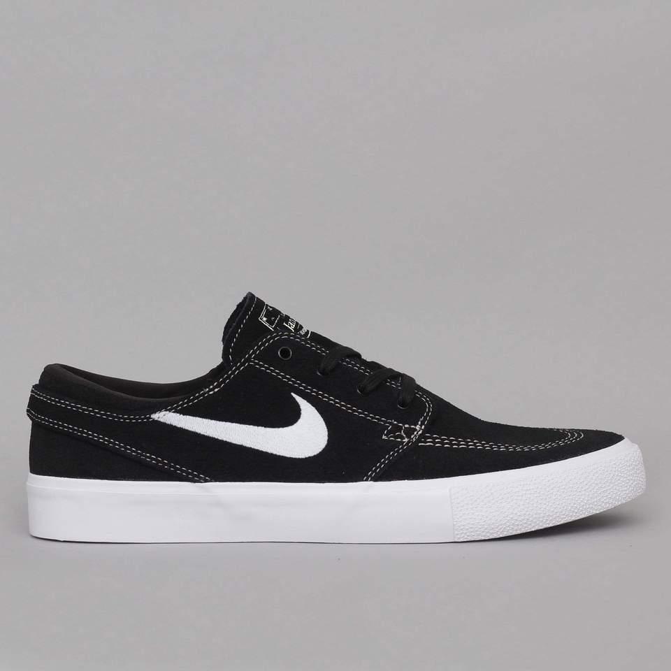 Nike SB Janoski RM Shoes Black White Coconut Milk