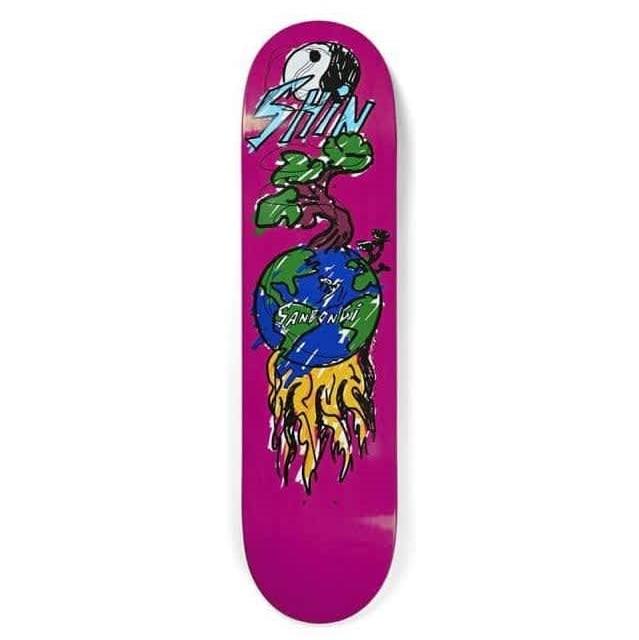 """Polar Skateboard Decks Shin Sanbongi Bonzai Ride - 8.125"""""""