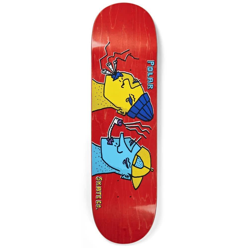 "Polar Skateboard Decks Smoking Heads - 8.125"""