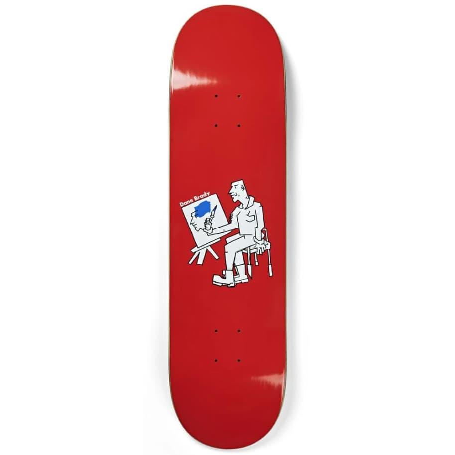 "Polar Skateboard Decks Dane Brady Painter - 8"""