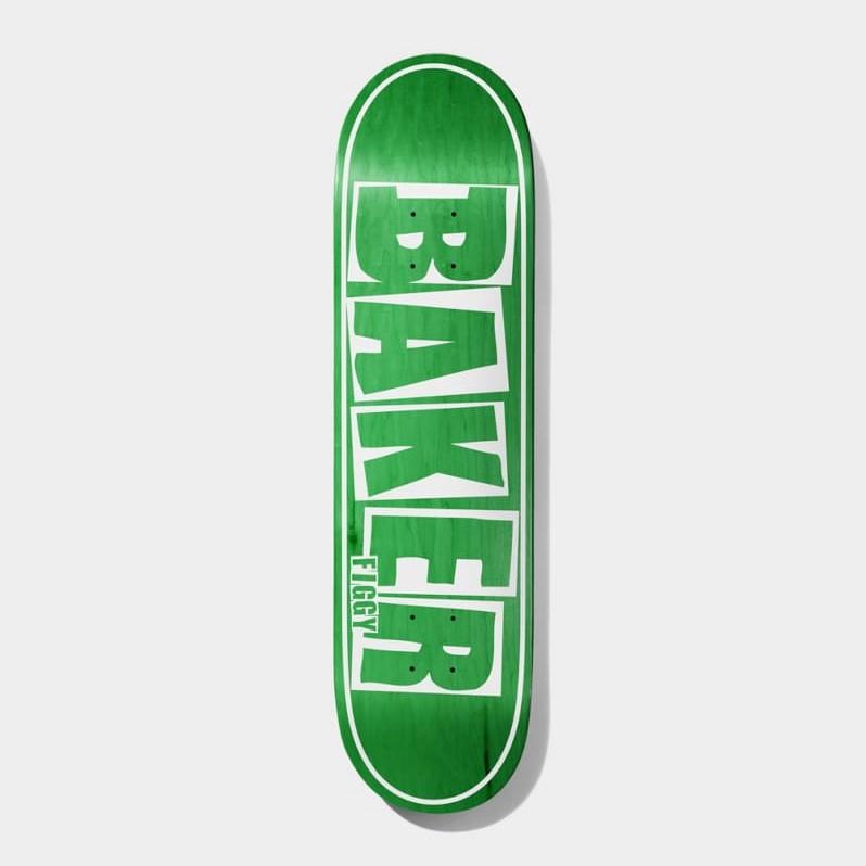 "Baker Skateboards Figgy Brand Name Deck 8.25"""