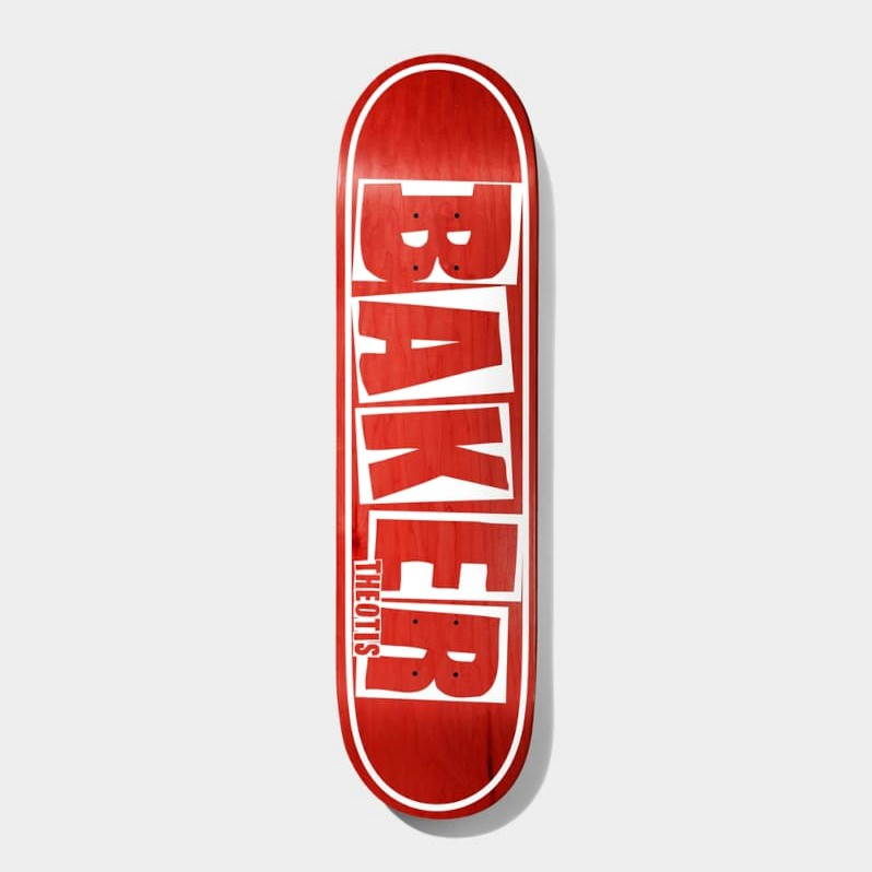 """Baker Skateboards Theotis Brand Name Deck - 8.5"""""""