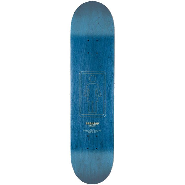 "Girl Pictograph Skateboard Deck Bannerot Yellow - 8"""