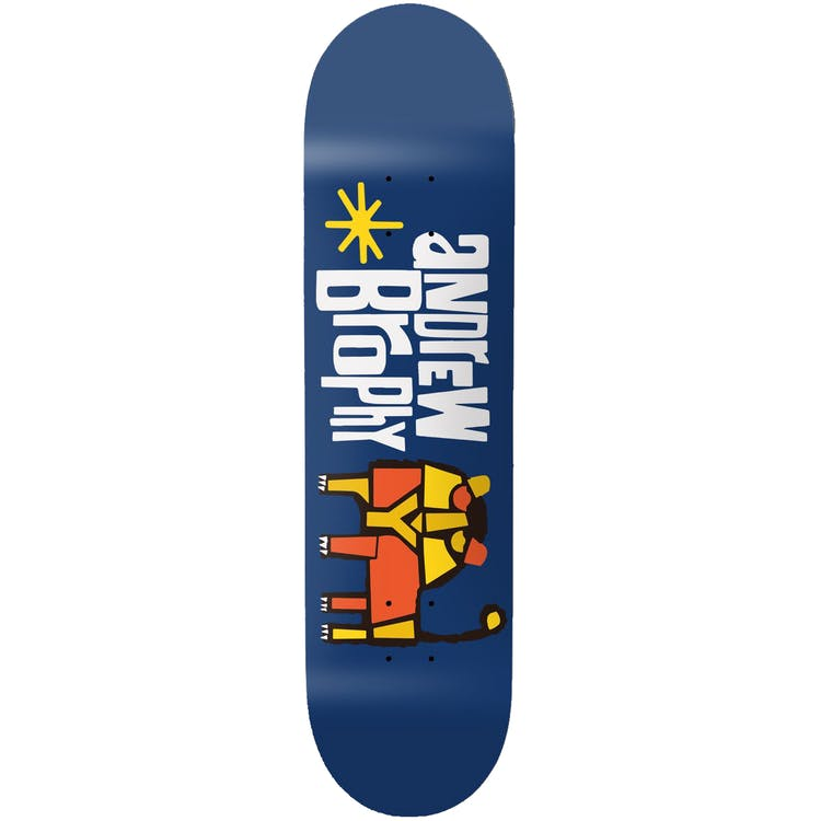 "Girl Pictograph Skateboard Deck Brophy - 8"""