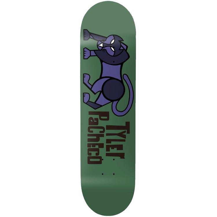 "Girl Pictograph Skateboard Deck Pacheco Green - 8.125"""
