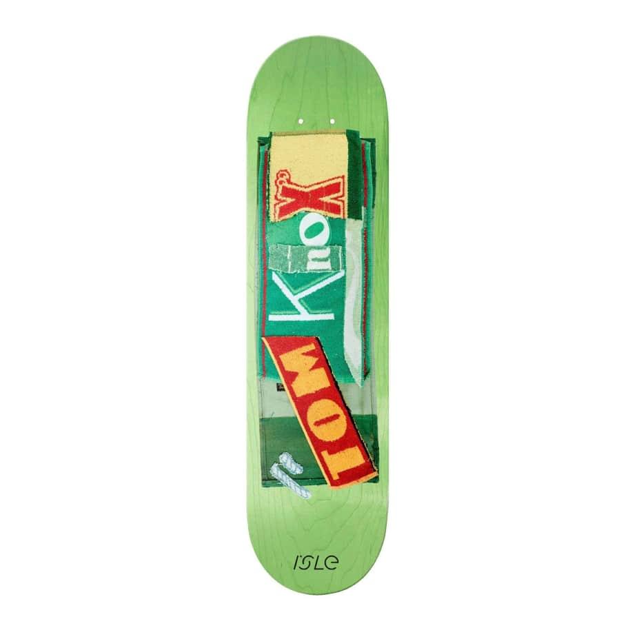 "Isle Skateboards Tom Knox Skateboard Deck - 8.375"""