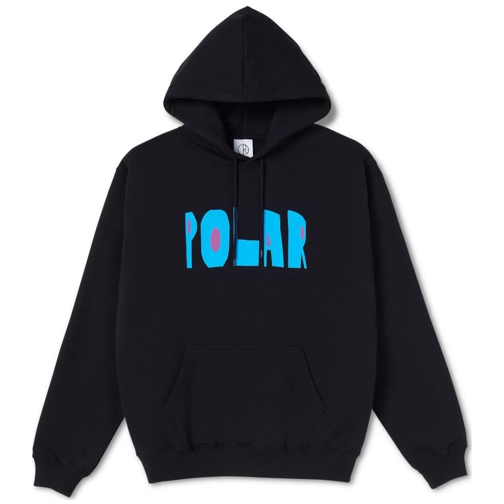 Polar Skate Co Cut Logo Hoodie - Black
