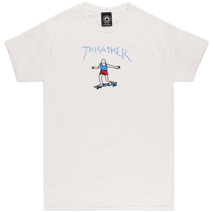 Thrasher Gonz Logo T-Shirt - White