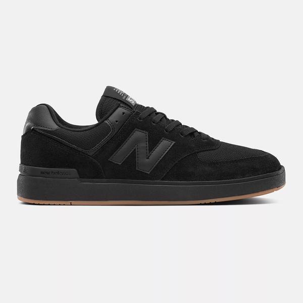 New Balance 574 V1 Shoes - Black / Gum
